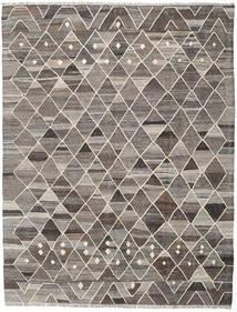 Kilim Ariana Tapete 185X244 Moderno Tecidos À Mão Cinzento Claro/Cinza Escuro (Lã, Afeganistão)