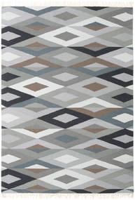 Zimba - Cinzento Tapete 160X230 Moderno Tecidos À Mão Cinzento Claro/Cinza Escuro (Lã, Índia)