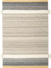 Fenix - Amarelo Tapete 250X350 Moderno Tecidos À Mão Cinzento Claro/Bege Grande (Lã, Índia)