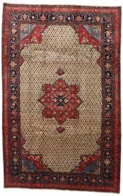 Songhor Tapete 206X322 Oriental Feito A Mão Castanho Claro/Preto (Lã, Pérsia/Irão)