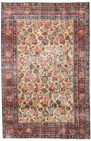 Mashad Patina Tapete 185X285 Oriental Feito A Mão Castanho Claro/Cinza Escuro (Lã, Pérsia/Irão)