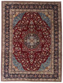 Kashmar Patina Tapete 254X335 Oriental Feito A Mão Vermelho Escuro/Castanho Escuro Grande (Lã, Pérsia/Irão)