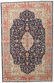 Kerman Patina Tapete 149X236 Oriental Feito A Mão Porpora Escuro/Vermelho Escuro (Lã, Pérsia/Irão)