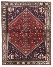 Abadeh Tapete 100X128 Oriental Feito A Mão Castanho Escuro/Vermelho Escuro (Lã, Pérsia/Irão)