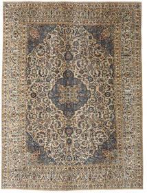 Kashmar Patina Tapete 290X390 Oriental Feito A Mão Cinza Escuro/Castanho Claro Grande (Lã, Pérsia/Irão)