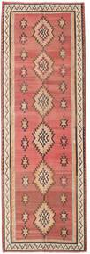Kilim Fars Tapete 155X460 Oriental Tecidos À Mão Tapete Passadeira Vermelho Escuro/Castanho Escuro (Lã, Pérsia/Irão)