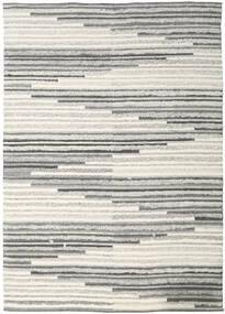Zennia Tapete 250X350 Moderno Tecidos À Mão Cinzento Claro/Bege Escuro Grande (Lã, Índia)