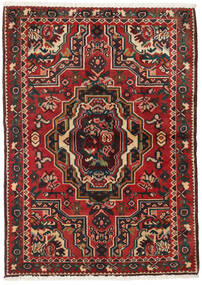 Bakhtiari Tapete 103X145 Oriental Feito A Mão Castanho Escuro/Vermelho Escuro (Lã, Pérsia/Irão)