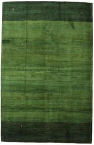 Gabbeh Persa Tapete 198X307 Moderno Feito A Mão Verde Escuro/Verde (Lã, Pérsia/Irão)