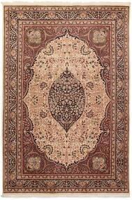 Tree Of Life Tapete 195X290 Oriental Tecidos À Mão Castanho Escuro/Castanho (Lã, Paquistão)