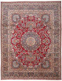 Kerman Tapete 303X391 Oriental Feito A Mão Cinza Escuro/Vermelho Escuro Grande (Lã, Pérsia/Irão)