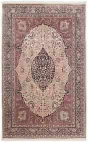 Tree Of Life Tapete 196X305 Oriental Tecidos À Mão Luz Rosa/Castanho Escuro (Lã, Paquistão)