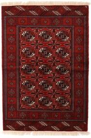 Turcomano Tapete 110X160 Oriental Feito A Mão Vermelho Escuro/Castanho Escuro (Lã, Pérsia/Irão)