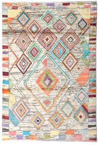 Moroccan Berber - Afghanistan Tapete 119X176 Moderno Feito A Mão Bege/Bege Escuro (Lã, Afeganistão)