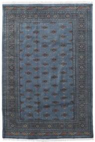 Paquistão Bucara 3Ply Tapete 169X250 Oriental Feito A Mão Cinza Escuro/Azul (Lã, Paquistão)