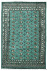 Paquistão Bucara 2Ply Tapete 187X276 Oriental Feito A Mão Azul Turquesa/Cinza Escuro (Lã, Paquistão)
