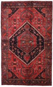 Hamadã Tapete 138X225 Oriental Feito A Mão Vermelho Escuro/Preto (Lã, Pérsia/Irão)