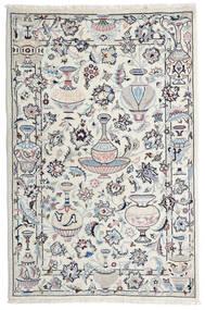Kashmar Tapete 105X157 Oriental Feito A Mão Cinzento Claro/Bege (Lã, Pérsia/Irão)