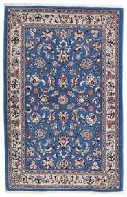 Kashmar Tapete 105X160 Oriental Feito A Mão Cinzento Claro/Azul Escuro (Lã, Pérsia/Irão)