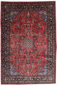 Hamadã Shahrbaf Tapete 217X315 Oriental Feito A Mão Vermelho Escuro/Castanho Escuro (Lã, Pérsia/Irão)