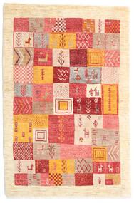 Loribaft Persa Tapete 103X153 Moderno Feito A Mão Bege/Castanho Alaranjado (Lã, Pérsia/Irão)