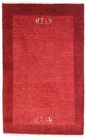 Loribaft Persa Tapete 79X128 Moderno Feito A Mão Vermelho/Castanho Alaranjado (Lã, Pérsia/Irão)