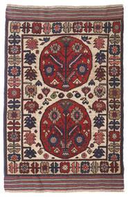 Kilim Golbarjasta Tapete 90X140 Oriental Tecidos À Mão Porpora Escuro/Vermelho Escuro (Lã, Afeganistão)