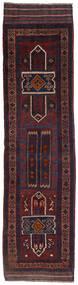 Kilim Golbarjasta Tapete 70X270 Oriental Tecidos À Mão Tapete Passadeira Azul Escuro/Vermelho Escuro (Lã, Afeganistão)