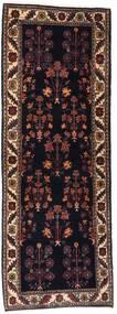 Gabbeh Kashkooli Tapete 82X223 Moderno Feito A Mão Tapete Passadeira Castanho Escuro/Vermelho Escuro (Lã, Pérsia/Irão)