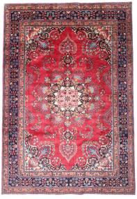Mashad Tapete 203X290 Oriental Feito A Mão Porpora Escuro/Rosa (Lã, Pérsia/Irão)
