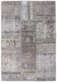 Patchwork - Persien/Iran Tapete 105X159 Moderno Feito A Mão Cinzento Claro/Cinza Escuro (Lã, Pérsia/Irão)