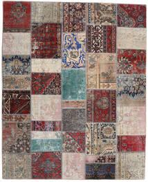 Patchwork - Persien/Iran Tapete 200X246 Moderno Feito A Mão Cinzento Claro/Vermelho Escuro (Lã, Pérsia/Irão)