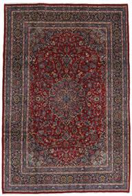 Mashad Tapete 210X310 Oriental Feito A Mão Vermelho Escuro/Preto (Lã, Pérsia/Irão)