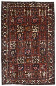 Bakhtiari Tapete 204X312 Oriental Feito A Mão Vermelho Escuro/Preto (Lã, Pérsia/Irão)