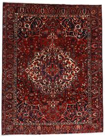 Bakhtiari Tapete 277X356 Oriental Feito A Mão Vermelho Escuro/Castanho Escuro Grande (Lã, Pérsia/Irão)
