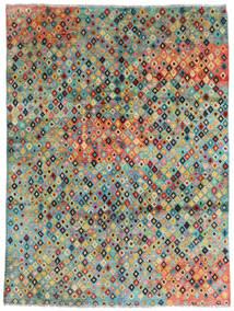 Moroccan Berber - Afghanistan Tapete 180X241 Moderno Feito A Mão Cinza Escuro/Azul Turquesa (Lã, Afeganistão)