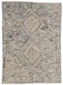Kilim Ariana Tapete 175X240 Moderno Tecidos À Mão Cinza Escuro (Lã, Afeganistão)