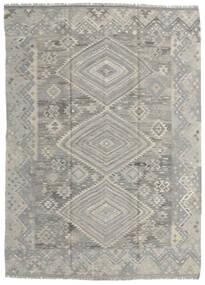 Kilim Ariana Tapete 176X244 Moderno Tecidos À Mão Cinzento Claro (Lã, Afeganistão)