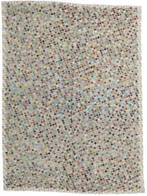 Kilim Afegão Old Style Tapete 215X287 Oriental Tecidos À Mão Cinzento Claro/Cinza Escuro (Lã, Afeganistão)