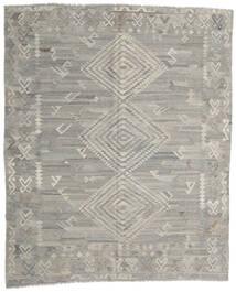 Kilim Moderno Tapete 258X312 Moderno Tecidos À Mão Cinzento Claro Grande (Lã, Afeganistão)
