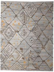 Kilim Ariana Tapete 258X332 Moderno Tecidos À Mão Cinzento Claro/Cinza Escuro Grande (Lã, Afeganistão)