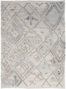 Kilim Ariana Tapete 254X345 Moderno Tecidos À Mão Cinzento Claro Grande (Lã, Afeganistão)