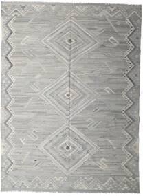 Kilim Ariana Tapete 250X335 Moderno Tecidos À Mão Cinzento Claro Grande (Lã, Afeganistão)