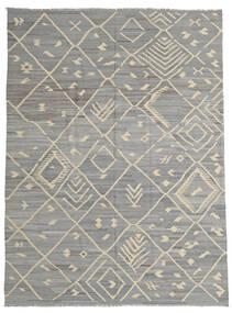 Kilim Ariana Tapete 252X335 Moderno Tecidos À Mão Cinzento Claro/Cinza Escuro Grande (Lã, Afeganistão)