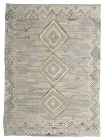 Kilim Ariana Tapete 254X340 Moderno Tecidos À Mão Cinzento Claro Grande (Lã, Afeganistão)
