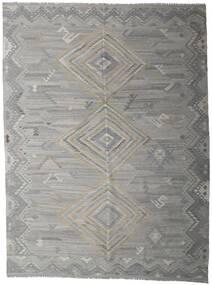 Kilim Ariana Tapete 259X339 Moderno Tecidos À Mão Cinzento Claro/Cinza Escuro Grande (Lã, Afeganistão)