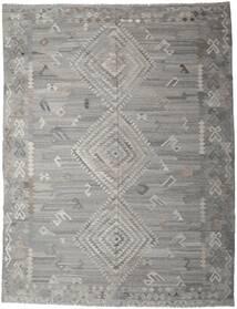 Kilim Ariana Tapete 261X334 Moderno Tecidos À Mão Cinzento Claro/Cinza Escuro Grande (Lã, Afeganistão)