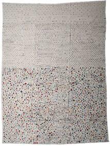 Kilim Moderno Tapete 290X389 Moderno Tecidos À Mão Cinzento Claro/Cinza Escuro Grande (Lã, Afeganistão)