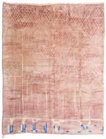 Berber Moroccan - Mid Atlas Tapete 305X396 Moderno Feito A Mão Luz Rosa/Bege Grande (Lã, Marrocos)
