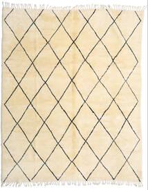 Berber Moroccan - Beni Ourain Tapete 280X345 Moderno Feito A Mão Bege/Bege Escuro Grande (Lã, Marrocos)